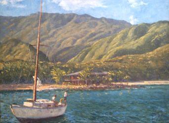 Camurí. 1974. Oil on Canvas.