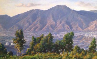 El Avila desde Los Naranjos. 1988.