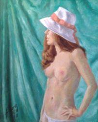 1988. Oil on Canvas. 49x59