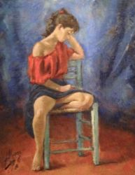 1986. Oil on Canvas. 39x49