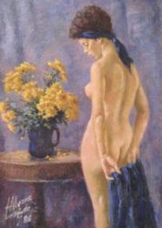 1986. Oil on Canvas. 29x39