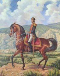 Bolívar. 1985. Oil on Canvas.