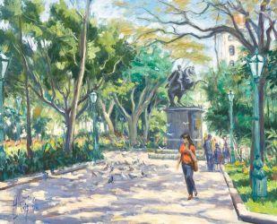 Plaza Bolívar. 1984