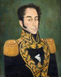 Simón Bolivar. Copy after Jose Gil de Castro. 1983